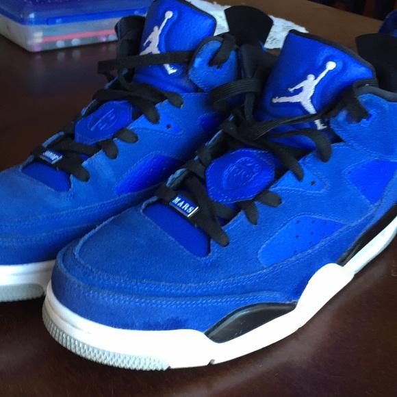 Jordan Shoes   Son Of Mars Low Hyper Royal Blue   Poshmark